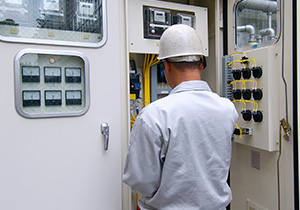 画像:電気工事