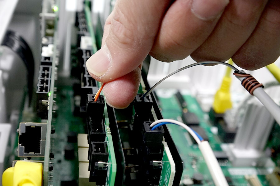 画像:ネットワーク関連の工事を一貫して依頼できる